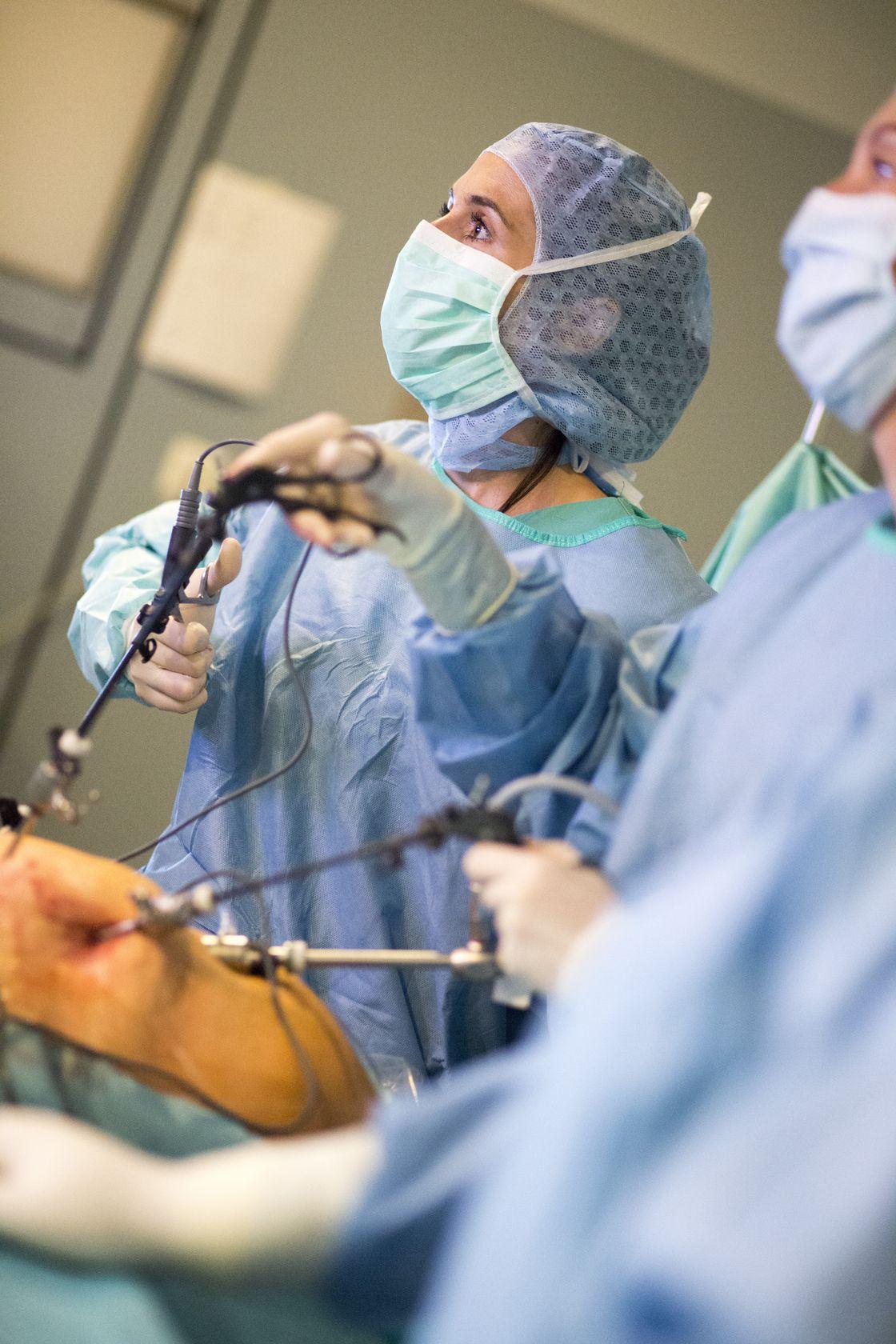 Lange krankenhaus op wie gebärmutter Hysterektomie, Operation,