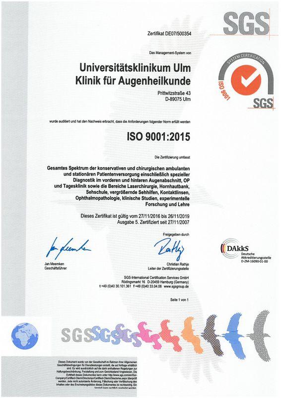 Qualität   Universitätsklinikum Ulm
